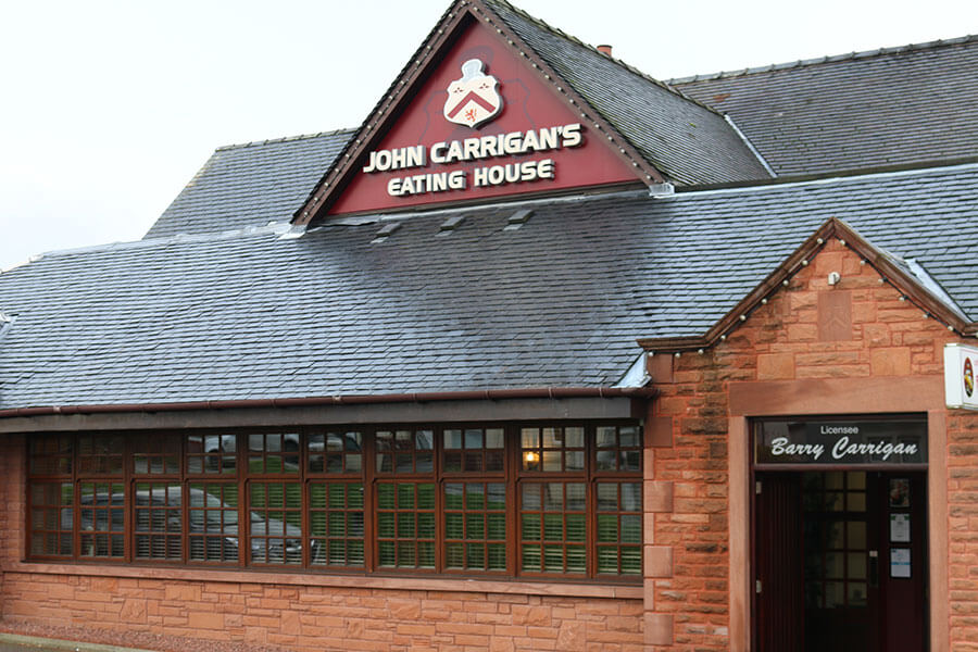JOHN CARRIGAN'S EATING HOUSE – GLASGOW