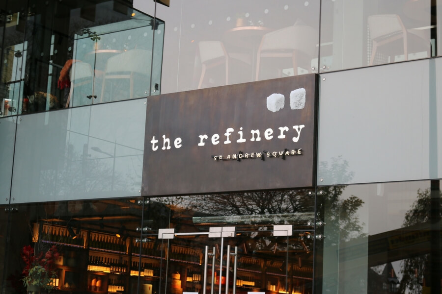 allstar-joinery-bar-restaurant-fit-out-edinburgh-the-refinery-drake-and-morgan