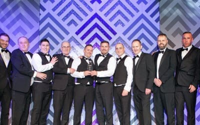 Lanarkshire business excellence awards 2017. Allstar joinery, best family business 2017