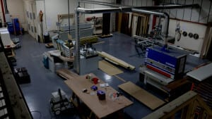 Allstar Joinery Production Area