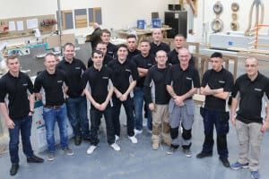 Apprentice Team Allstar Joinery
