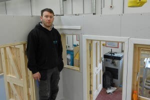 Graham Hanlon Apprentice Allstar Joinery