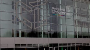 New Lanarkshire College Sign
