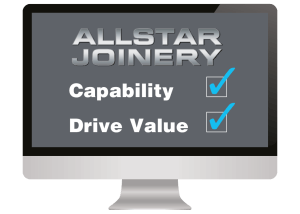 Allstar Joinery Why Us Graphic