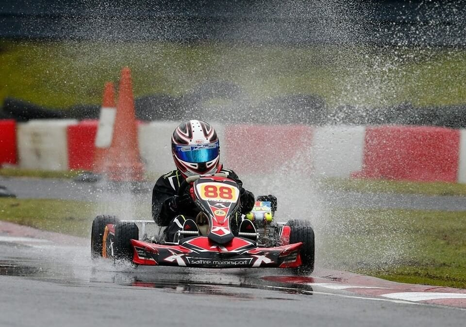 ALLSTAR JOINERY IS PROUD TO SPONSOR – William Walker –  Racing Kart Driver and Honda Cadet No 88.
