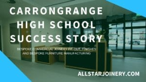 AS Thumbnail CARRONGRANGE HIGH SCHOOL FIT OUT SUCCESS STORY ALLSTAR JOINERY