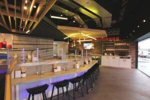 To! Sushi Glasgow Fort Restaurant Fit-out