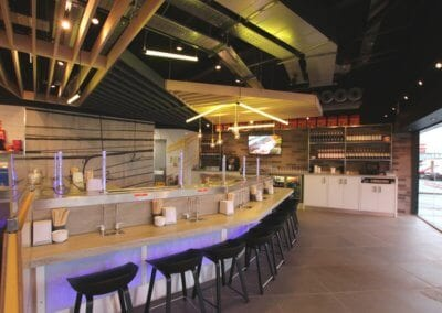 YO!-Sushi-Glasgow-Fort-Restaurant-Fit-out-Allstar-Joinery-3
