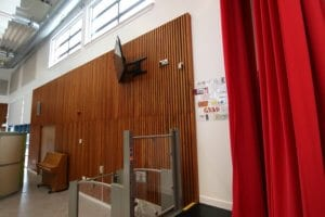 Acoustic Wall Cladding School Assembly