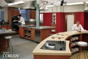 Corian® worktops and solid surfaces