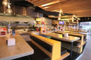 Corian®solid surfaces installed