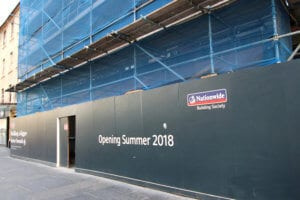 Nationwide Building Society, Argyle Street, Glasgow, Branch Fit-out