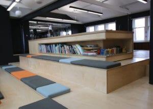 Bespoke bench storage seating