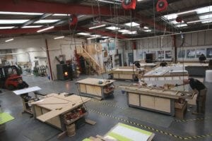 Allstar Joinery Bespoke Manufacturing Production Facility