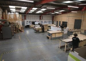 Bespoke Manufacturing and Assembly Facility at Allstar Joinery Ltd Glasgow (6)