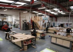 Bespoke Manufacturing and Assembly at Allstar Joinery Glasgow