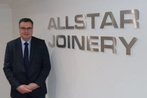 John Gaughan Commercial Manager Allstar Joinery Ltd