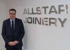John Gaughan Commercial Manager Allstar Joinery