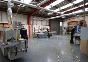 Machine Shop at Allstar Joinery HQ Glasgow (2)