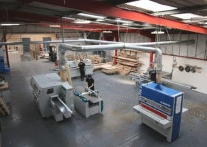 Machine Shop at Allstar Joinery Headquarters Glasgow (1)