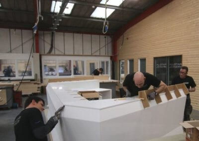 Solid Surface Reception Desk by Allstar Joinery (7)