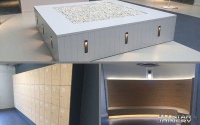 Edinburgh University – Bespoke Furniture Manufacture and Installation