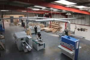 Allstar Joinery Production Facility Machine Shop