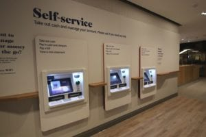Nationwide Building Society Glasgow internal interior fit out