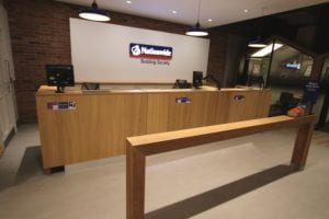 Nationwide Building Society Interior Fit out Allstar Joinery Ltd